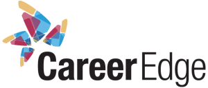 Clicking on Career Edge here in bold with their abstract logo in red, yellow and blue on the top left will take you to their page.